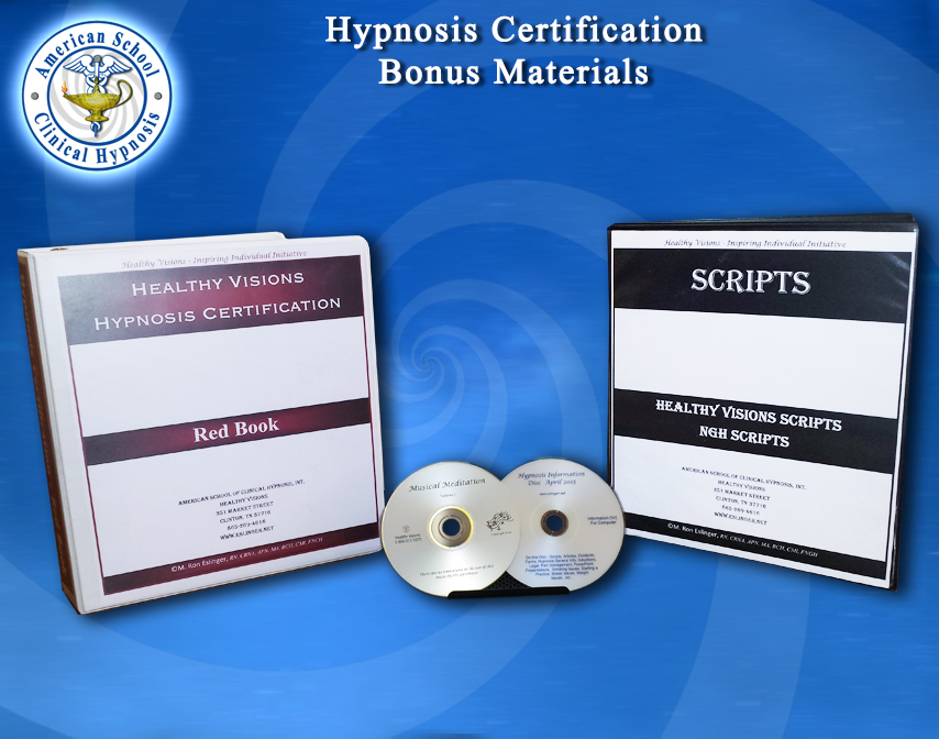 Hypnosis Certification Bonus Materials
